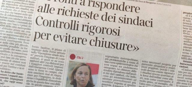 ritaglio_pagina_corriere_intervista_lamorgese