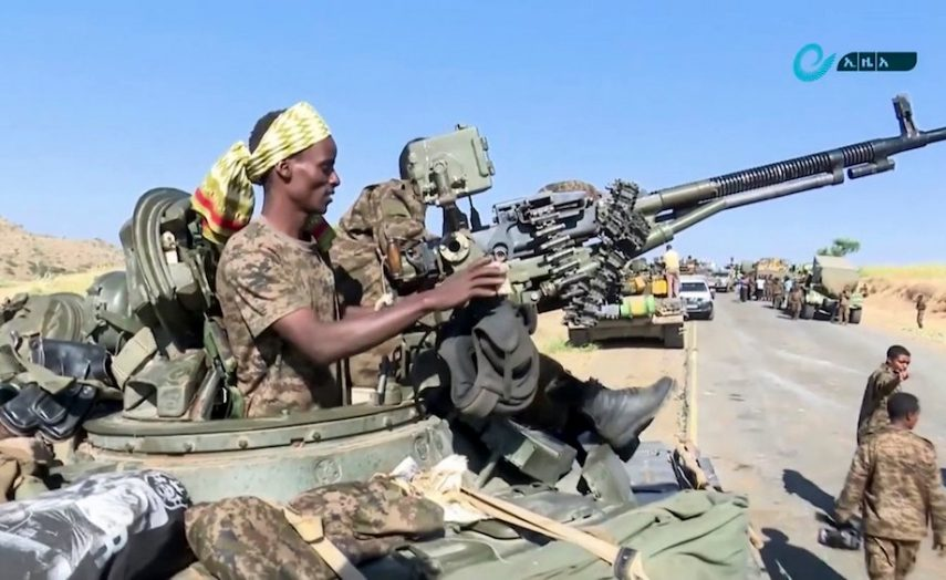 Ethiopian-troops
