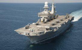 Imminente la partenza della portaerei Cavour per gli Stati Uniti