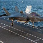 La portaerei Cavour certificata all'impiego degli F-35B