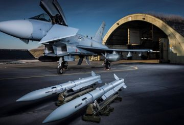 Meteor on German Air Force Eurofighter Typhoon