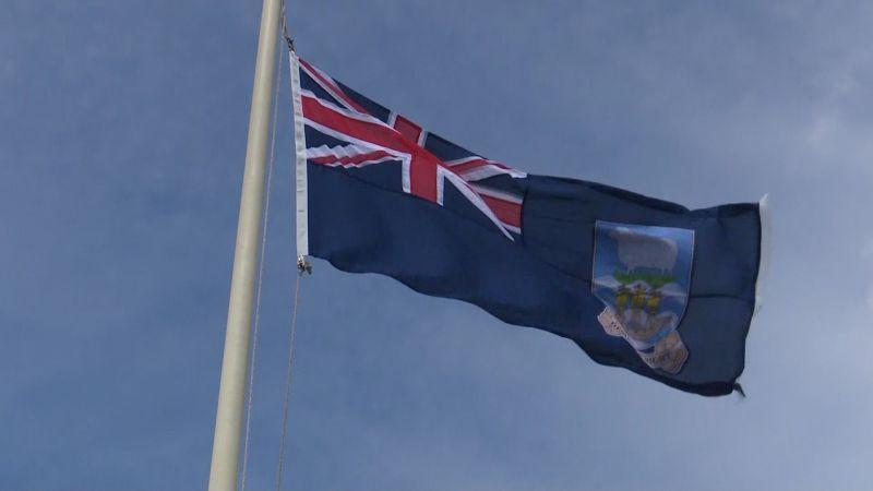 falklands flag in uk 240519 CREDIT BFBS_0