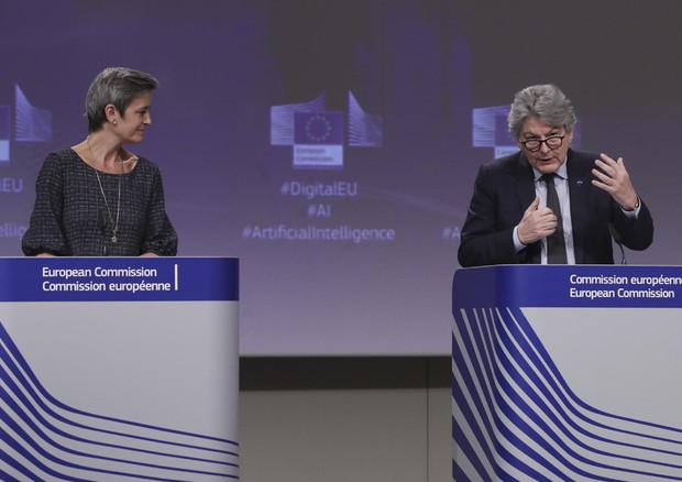 La Commissione Ue riduce sensibilmente l'impiego dell'identificazione biometrica