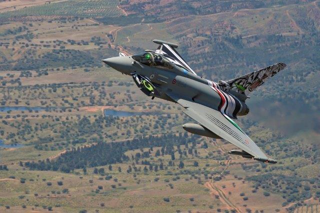 Eurofighter Special Color in volo addestrativo