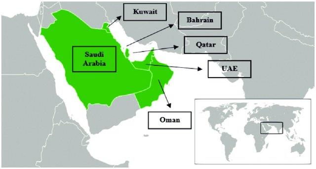 Gulf-Cooperation-Council-GCC-countries