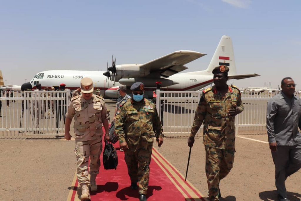 Sudana-and-Egypt-Joint-Military-Exercise