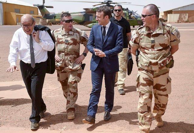 Atalayar_Operacion Barkhane Francia Mali Emmanuel Macron