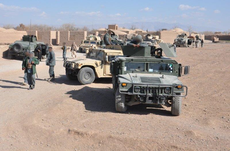 Le operazioni condotte a Farah dalle forze di sicurezza Afghane durante la PTAA (002)