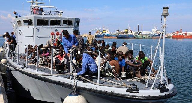 مهاجران لیبیایی