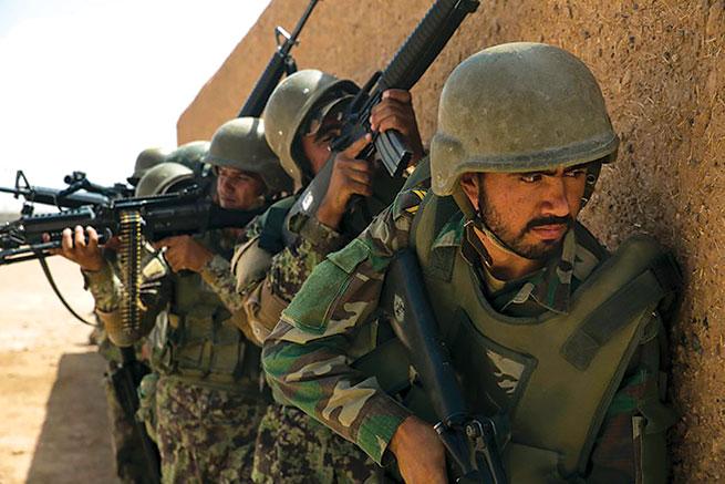 Afghan-Army-training