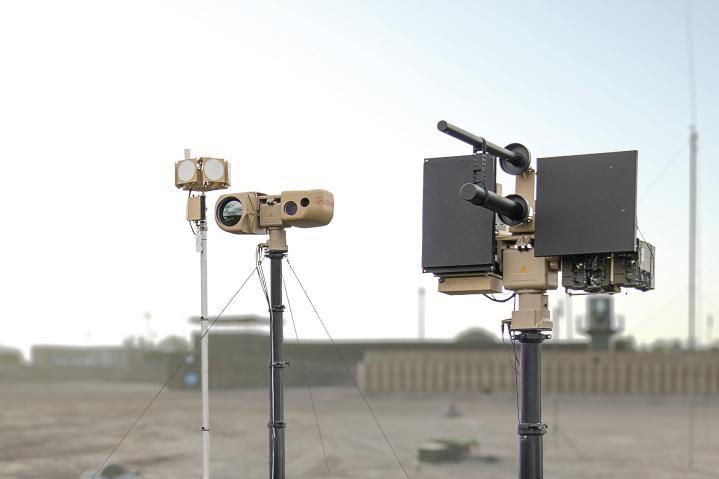 Leonardo sistema anti drone