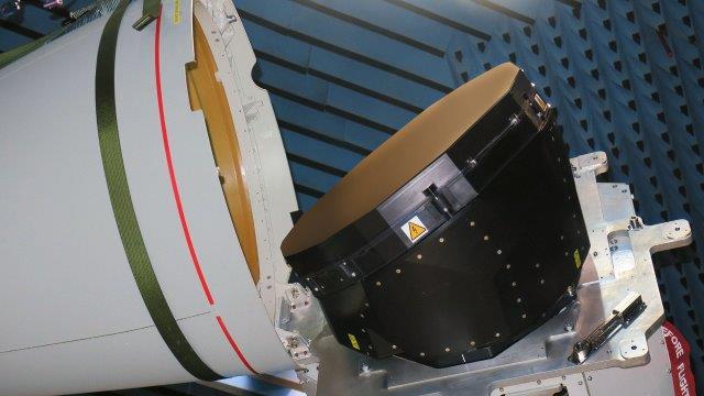 The ECRS Mk2 radar undergoing testing at Leonardo's site in Edinburgh (002)